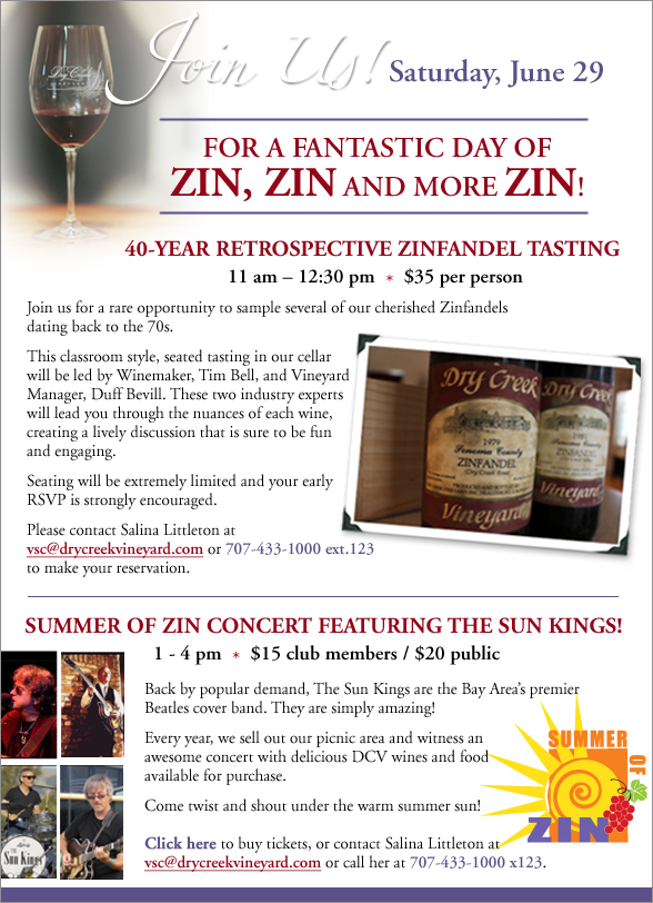 Join Us. Summer of Zin